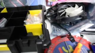 My Pc Mod Garage Tour, Tools And Where I Build My Gaming Custom Computers