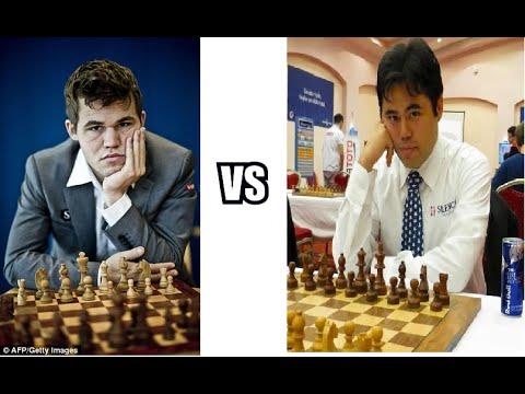Hikaru Nakamura crushes Magnus Carlsen! - Bilbao Masters 13 July 2016