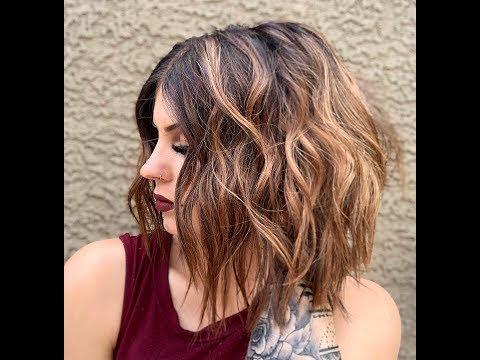 How to curl short hair (beach waves)