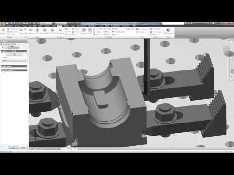 autodesk inventor 2016 anycad cam doovi. Black Bedroom Furniture Sets. Home Design Ideas