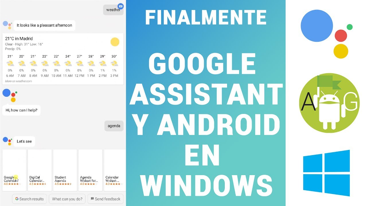 Instalar Google Assistant Windows – Funcional…