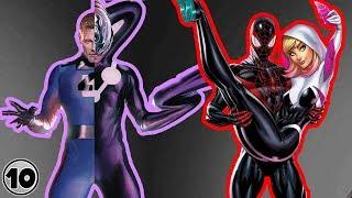 Top 10 Superheroes Who Met Their Alternate Versions