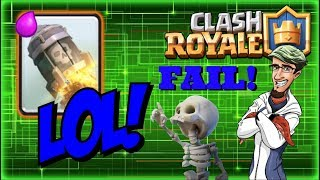 Purge Day! How did I Screw that Up? ~ Clash Royale