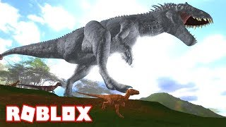 THE DINOSAURS OF JURASSIC WORLD MORE REALISTIC OF ROBLOX! In Spanish