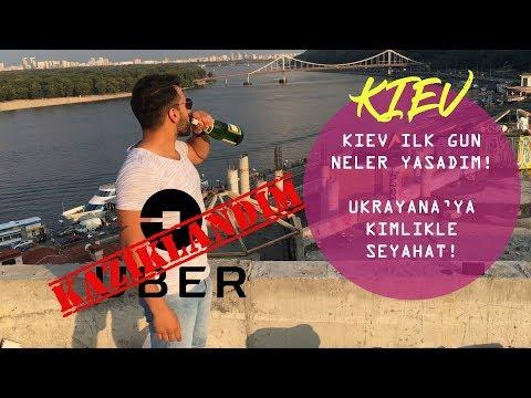 UKRAYNA'YA KİMLİKLE SEYAHAT ETTİM!(KAZIKLANDIM!)