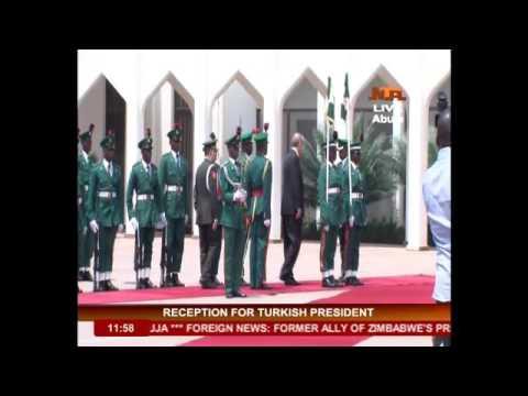 Buhari Meets Turkish President @ Aso  Rock Villa,Abuja