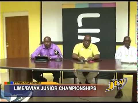 PRESS CONFERENCE   LIME BVIAA JUNIOR CHAMPIONSHIPS   18 MARCH 2014