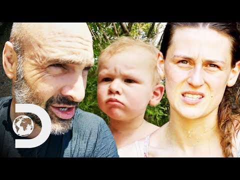 Ed Disappears For A Day Leaving Wife And Son Worried | Ed Stafford: Man Woman Child Wild