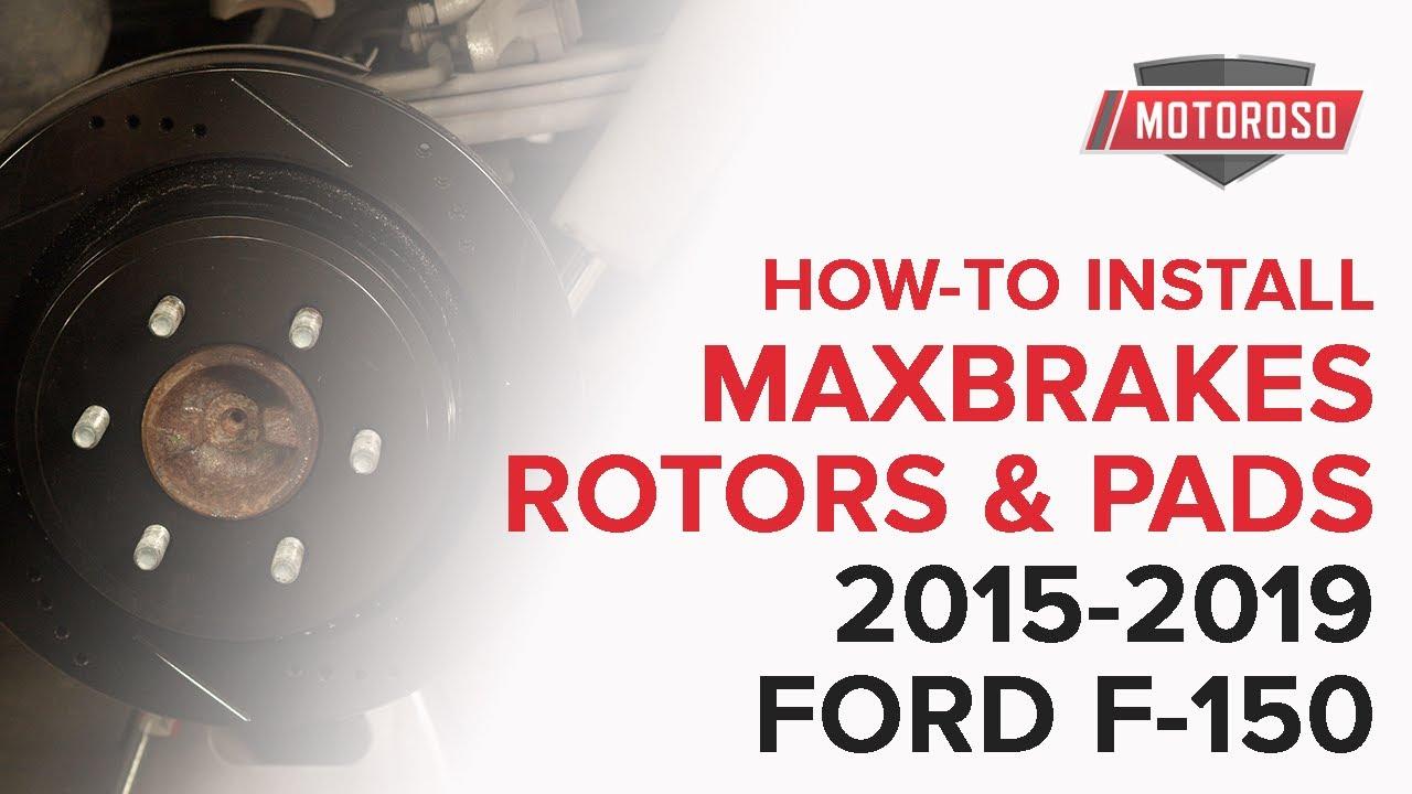 Max Brakes Front Elite E-Coated XDS Rotors and Ceramic Pads Brake Kit KT030181-2