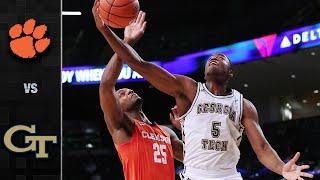 Clemson vs. Georgia Tech Men's Basketball Highlight (2020-21)