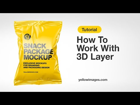 Download Yellow Images Tutorial How To Work With 3d Layer Youtube Yellowimages Mockups