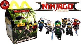 ЛЕГО НИНДЗЯГО ФИЛЬМ игрушки ХЕППИ МИЛ в Макдональдс 🍟Октябрь 2017+КОНКУРС🙃 LEGO NINJAGO Movie(, 2017-10-09T08:33:44.000Z)