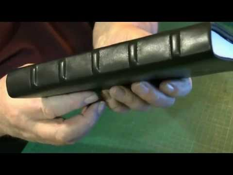 Bookbinding with leather   Three Quarter and Fully bound books