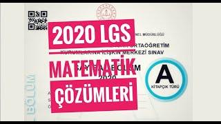 2020 LGS MATEMATİK SORULARI ve ÇÖZÜMLERİ