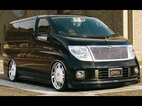 Nissan Elgrand E51 ОБЗОР конструктора