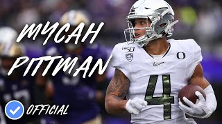 Mycah Pittman Official 2019 Oregon Highlightsᴴᴰ