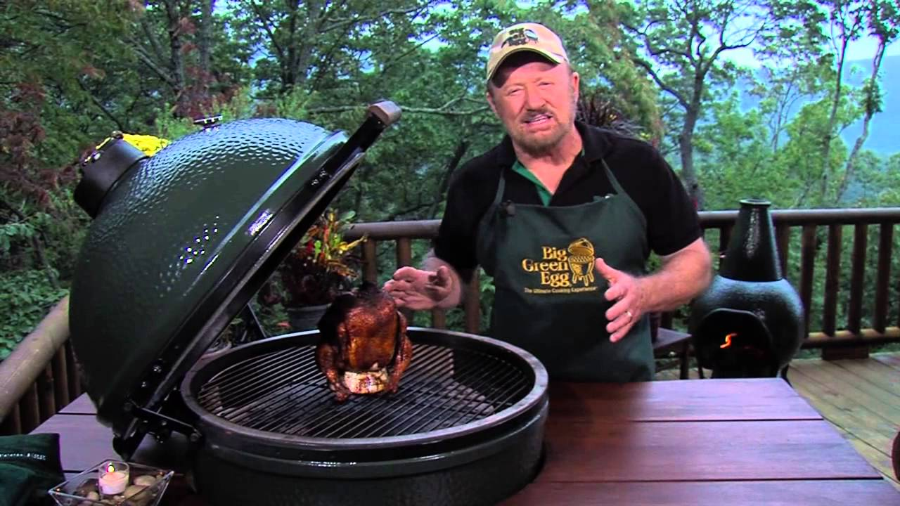 Smoked Chicken and B.G.E. Overview - Cooked on the Big Green Egg ...