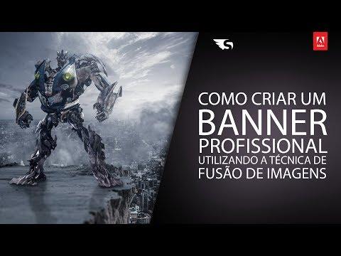 Como Criar um Banner Profissional - Transformers | Studio Online