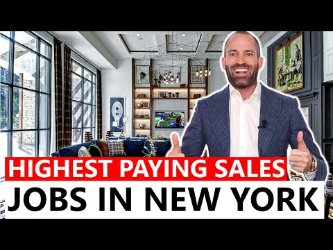 Highest Paying Sales Jobs In New York