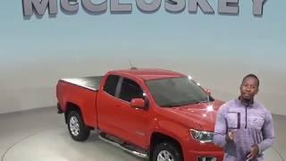 A98752ET Used 2016 Chevrolet Colorado LT 4WD Oragne Test Drive, Review, For Sale -