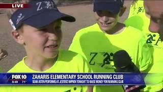 Cory's Corner: Zaharis Elementary School Running Club
