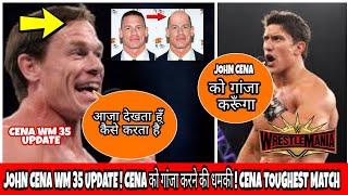 WWE superstar want shave John Cena head ! Cena WrestleMania plans ! Cena TOUGHEST opponent ! In hind