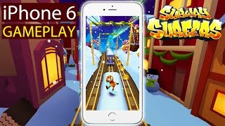 Subway Surfers - iPhone 6 Gameplay