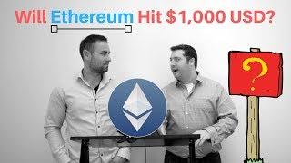 Will Ethereum Hit $1000? In Black & White