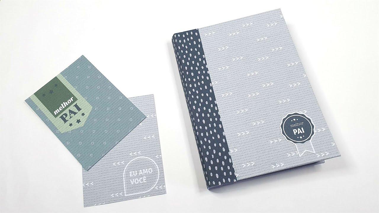 Como fazer mini álbum de envelopes para o Dia dos Pais