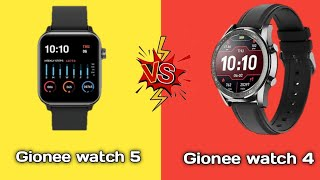 Gionee watch 5 Vs Gionee watch 4 full comparison in hindi || Gionee watch 5 Vs gionee watch 4