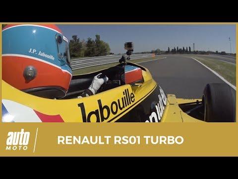 1977 Renault RS01 : l'incroyable histoire de la première F1 à moteur turbo (Sound)