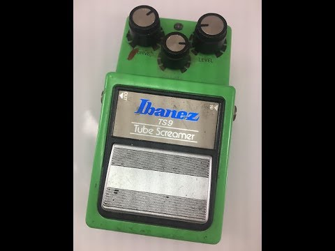 George Lynch - Owned Ibanez TS9 Tubescreamer w/Analogman Mods