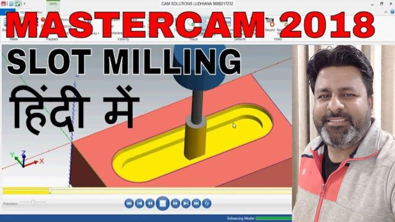 master cam 2017 slot milling operation milling tutorial 3d rh youtube com Operations Manual Template for Word Operation Manual Clip Art