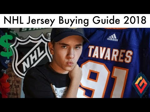 Where I Buy My NHL Jerseys - Jersey Shopping Guide 2018