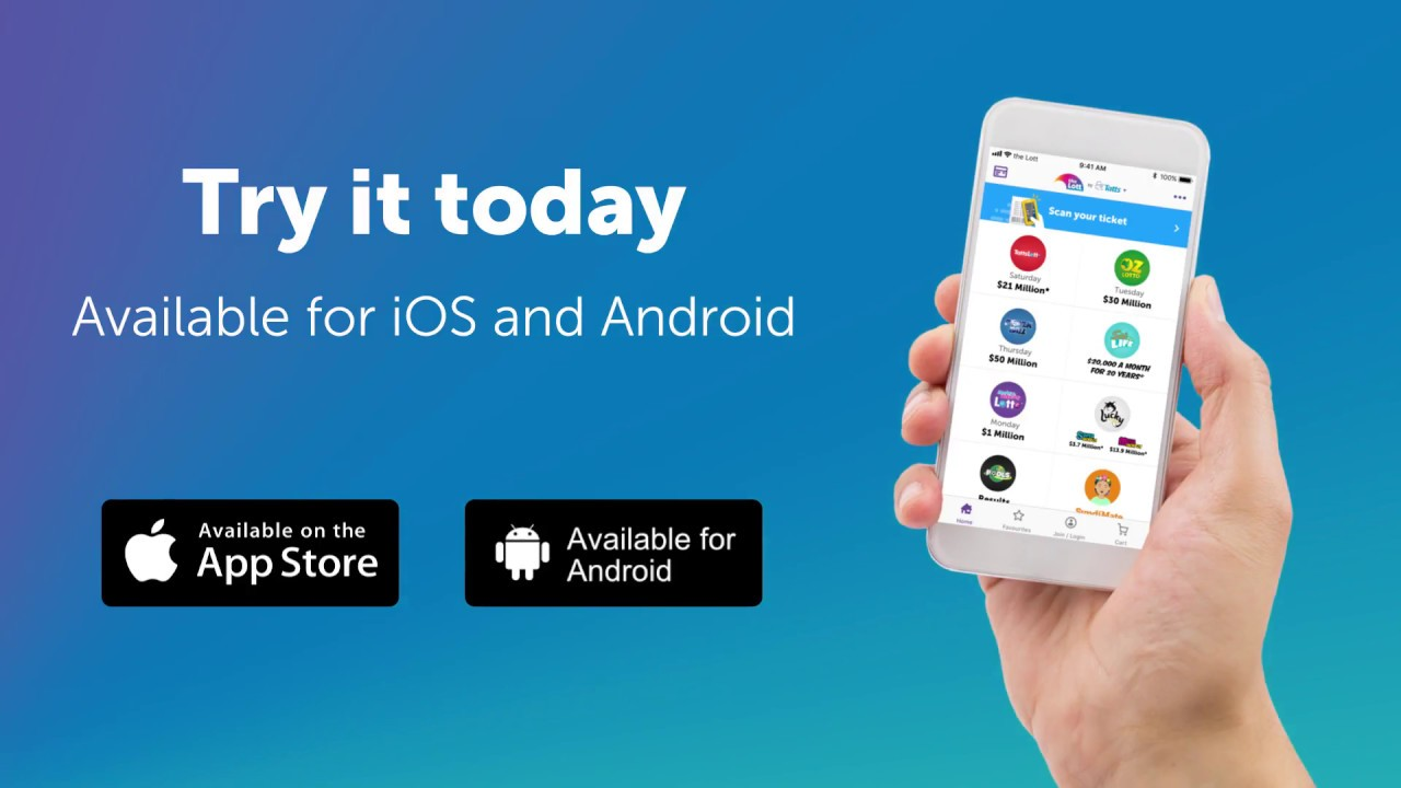 the Lott App for Apple & Android | Australia's Official Lotteries