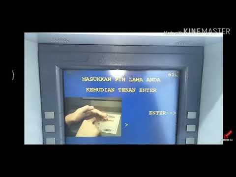 CARA GANTI PIN ATM MANDIRI.
