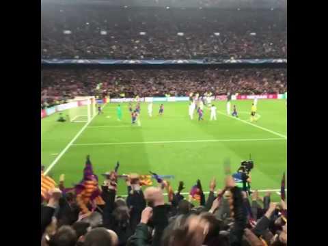 Barcelona-Psg 6-1: l'impresa vissuta dagli spalti del Camp Nou