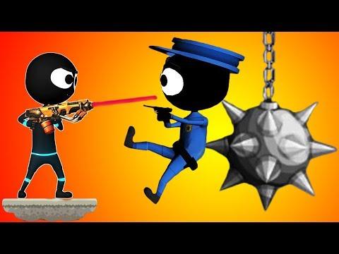 STICKMAN SHOOTER ELITE STRIKEFORCE - Walkthrough Gameplay Part 1 - INTRO (iOS Android)