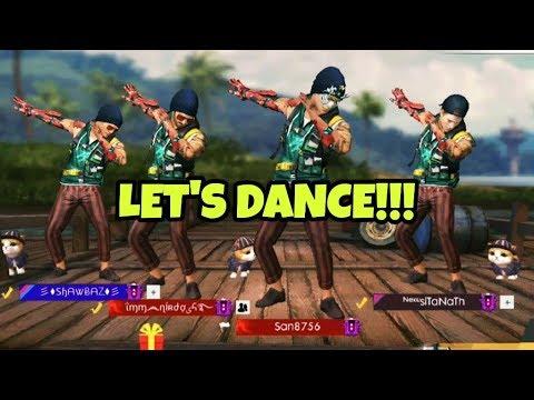 Let S Dance Emote Mashup Garena Free Fire Youtube