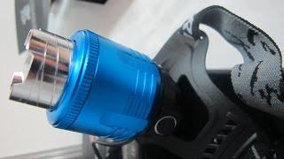 Купить в Москве мощный  налобный  аккумуляторный фонарь!(http://www.alarmgadget.ru/ Светодиодный налобный фонарь HL-K16-T6 58000W Подписывайтесь на канал