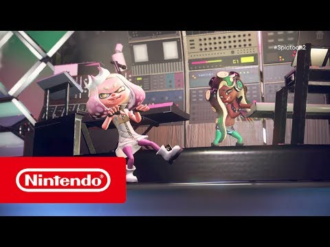 Splatoon 2 - Off the Hook introduction