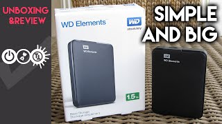 WD Elements 1.5TB (10B8) Unboxing & Review