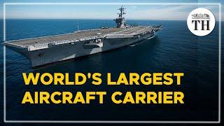 Inside Carl Vinson, world's largest aircraft carrier