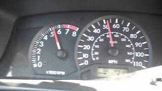 Разгон до 100 км/ч Toyota corolla ce 2004