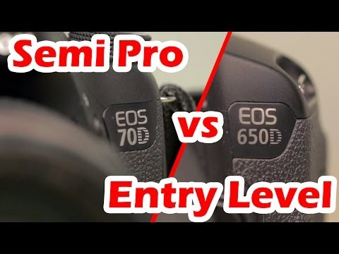 Entry level vs Semi-Pro Canon DSLRs