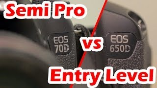Entry level vs Semi-Pro Canon DSLRs