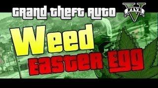 GTA 5 HIDDEN Weed Farm Easter Egg (GTA V,Location,Marijuana)