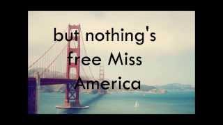 JAMES BLUNT - MISS AMERICA (Lyrics)