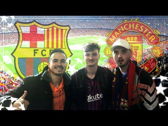 FC BARCELONA - MANCHESTER UNITED | Der krasseste STADIONVLOG 😱🔥