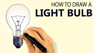 How To Draw A Light Bulb (Corel Painter 2015 Tutorial) [Draw This #59]